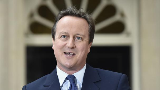 David Cameron was hailed for his role in legislating for gay marriage