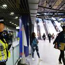 The suspicious item was found at the North Greenwich underground station
