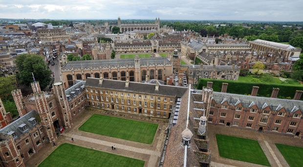 The UCAS statistics take into account only students who applied for medicine, dentistry and veterinary courses, and those applying to Oxford and Cambridge