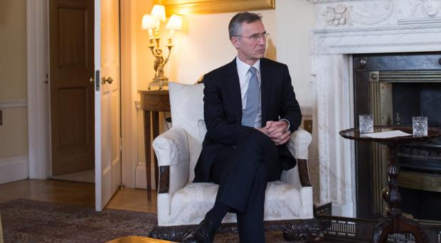 Jens Stoltenberg said the organisation was moving military assets to Eastern Europe as a precaution
