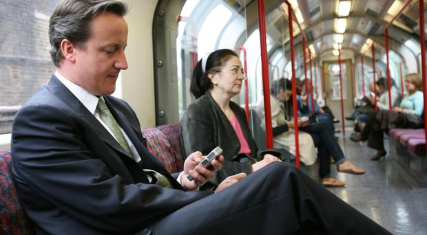 David Cameron pledged to improve mobile phone coverage when he was prime minister