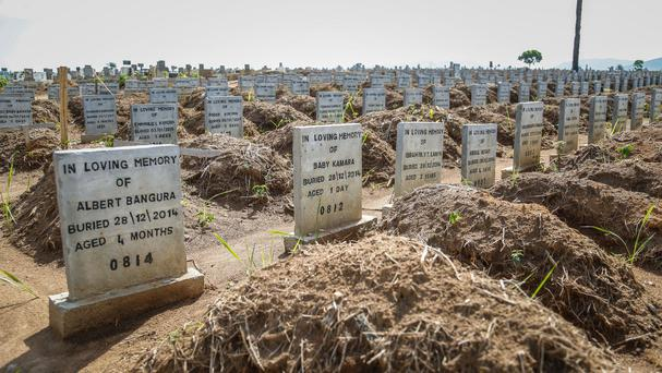 The graves of Ebola victims in Sierra Leone are a stark reminder of the need for a specialist team to stop such diseases spreading to Britain