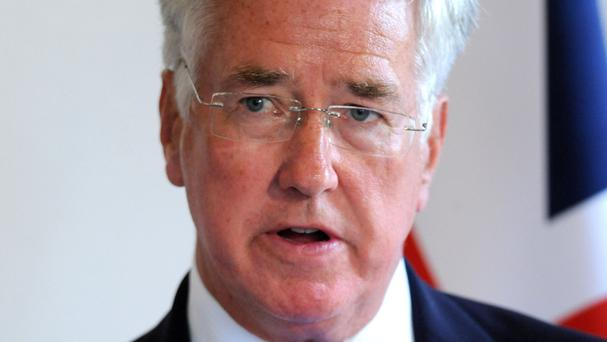 Sir Michael Fallon was giving evidence to the Commons Defence Committee