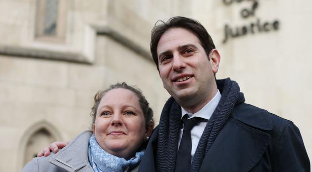 Rebecca Steinfeld and Charles Keidan are seeking the right to a civil partnership