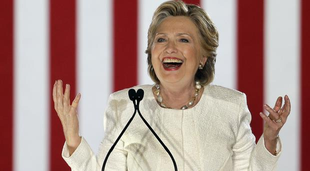 Democrat supporters are telling US citizens based in Britain to cast their vote for Hillary Clinton on November 8 (AP)