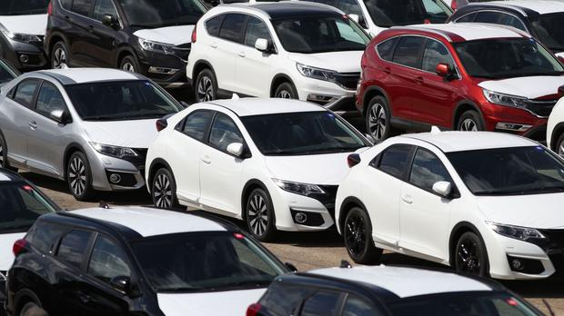 Figures show 180,168 cars were registered last month