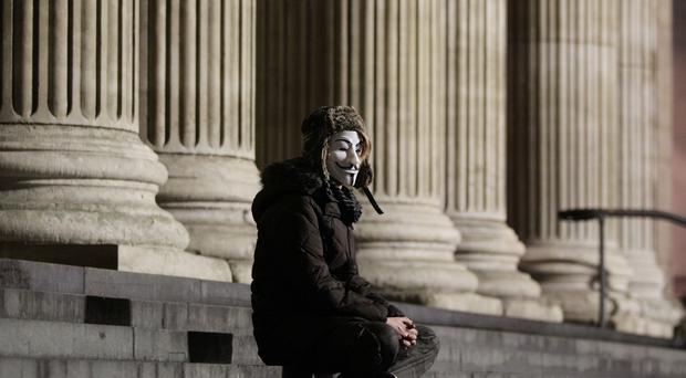 The Guy Fawkes mask has become a worldwide symbol of rebellion