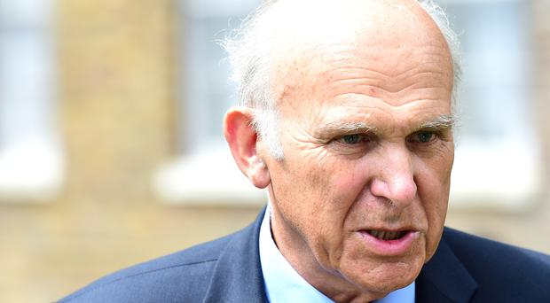 Sir Vince Cable said the MoD told him there would be oversight of targeting when he agreed to sign off on the delivery of laser-guided Paveway IV missiles