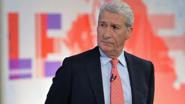 Jeremy Paxman, pictured, shared his damning indictment of David Cameron on Irish broadcaster RTE One's The Late Late Show