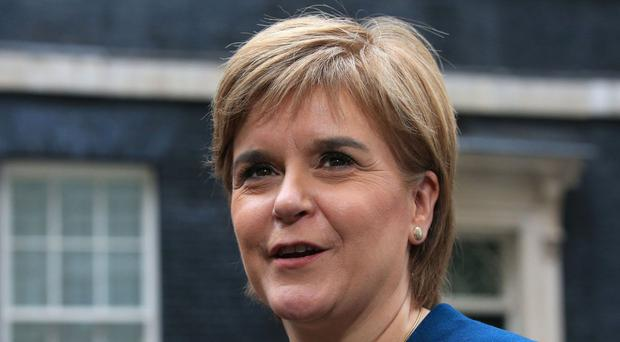 Nicola Sturgeon is to set out her own alternative economic policy