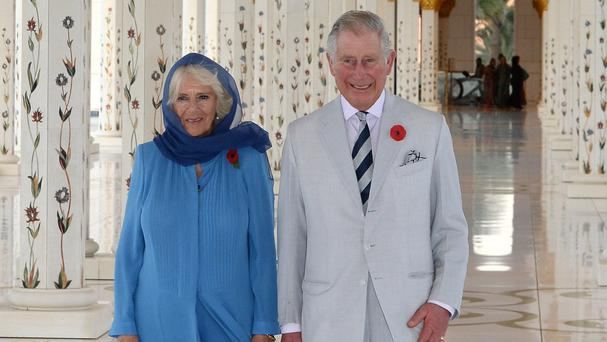 The Prince of Wales and the Duchess of Cornwall visited Sheikh Zayed Grand Mosque in Abu Dhabi