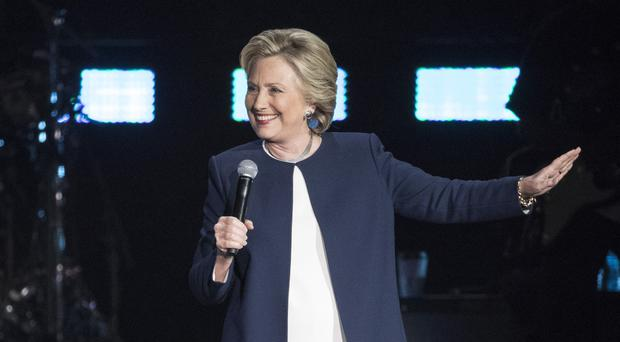 Hillary Clinton would be the first woman president in American history (AP)