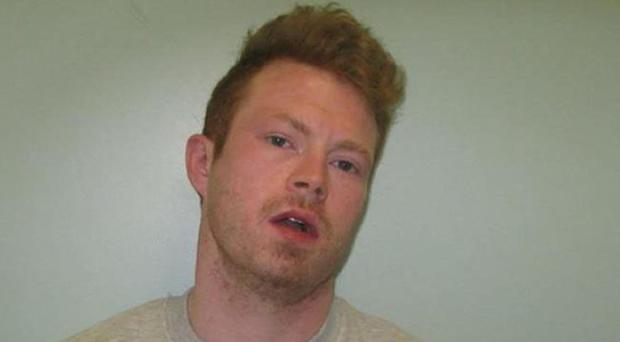 Matthew Baker was on remand awaiting sentencing after being convicted of stabbing a man during a dispute in Dagenham (Metropolitan Police/PA)