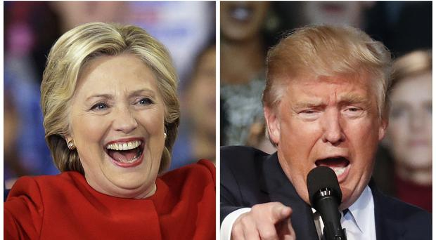 Hillary Clinton and Donald Trump have fought a gruelling fight for the White House (AP)