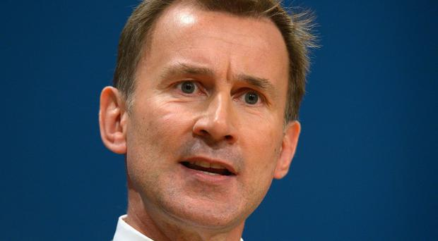 Health Secretary Jeremy Hunt has vowed to keep waiting time targets