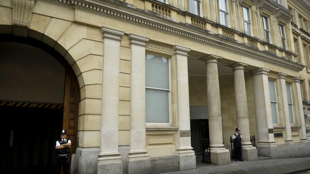 No evidence was offered at Bristol Crown Court