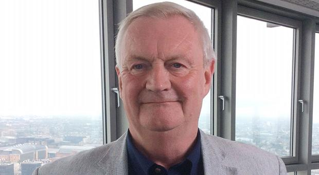 Alan Steadman, 69, from Dundee, who is the new voice of BT's speaking clock service