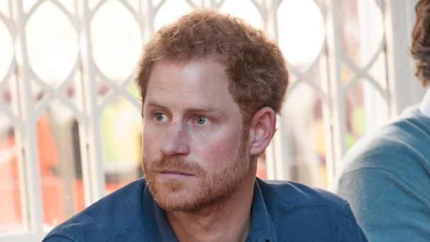 Prince Harry has not been seen in public since a Sunday newspaper broke the story of his relationship