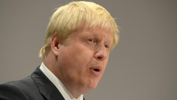 Foreign Secretary Boris Johnson supports the international condemnation.