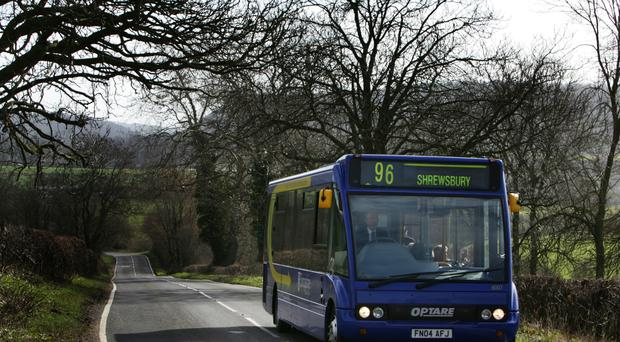 Rural bus services have come under pressure due to funding cuts