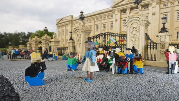 Lego's take on Buckingham Palace