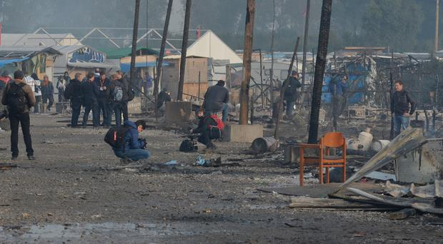 French authorities moved nearly 7,000 migrants from countries including Afghanistan, Sudan and Eritrea out of the rat-infested 'Jungle' camp