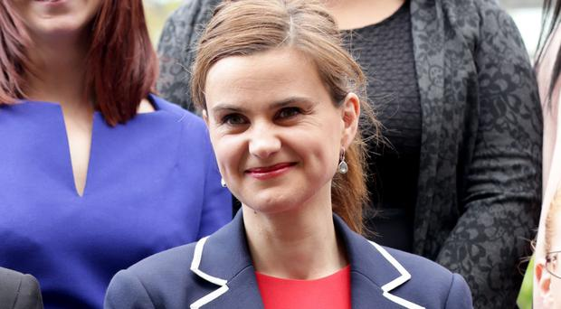 Jo Cox was shot and stabbed outside her constituency surgery in June
