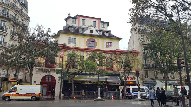The Bataclan concert hall in Paris, France, where 89 people died in a terrorist attack in November 2015