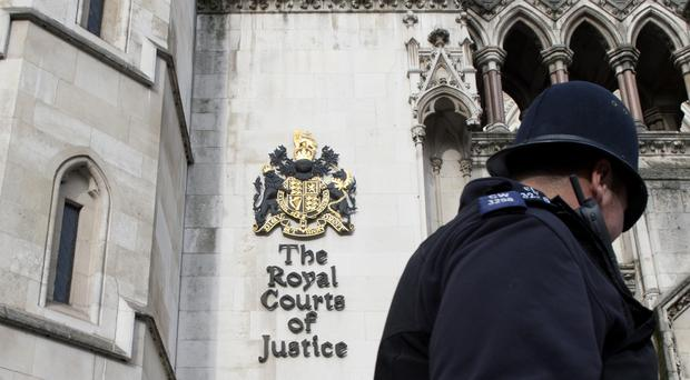 The case is being heard the High Court in London