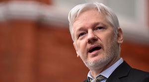 Julian Assange was interviewed inside the Ecuadorian Embassy in London