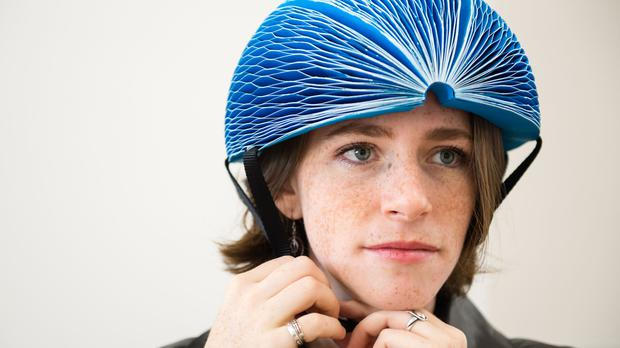 Foldable Paper Helmet Wins Tech Award
