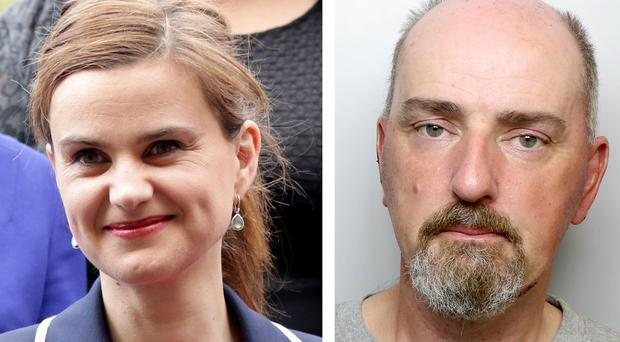 Thomas Mair is accused of the murder of Labour MP Jo Cox