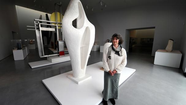 Dr Sophie Bowness is the granddaughter of Barbara Hepworth