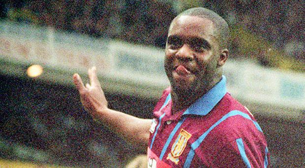 The ex-Aston Villa striker died in August after being Tasered