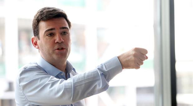 Mayor of Greater Manchester candidate Andy Burnham