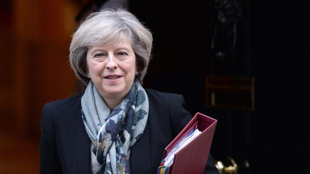 Theresa May is to say that the Government's modern industrial strategy will be 'ambitious for business and ambitious for Britain'