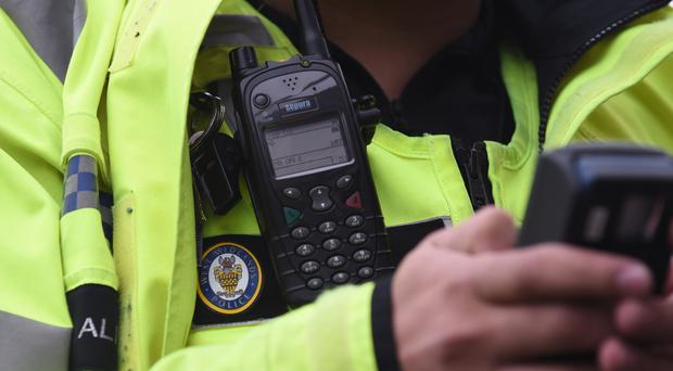 Burglars raided four homes in a single evening north Belfast while residents were at home, police have revealed