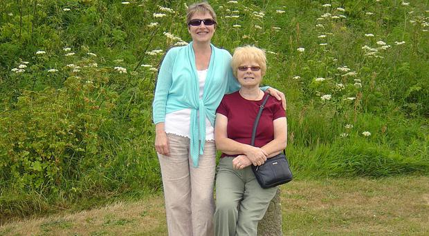 Julie Hill (left) and Rose Hill were killed in Derbyshire in February (PA/Derbyshire Police)
