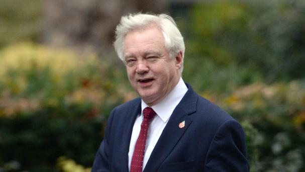 Secretary of State for Exiting the European Union David Davis will travel to Brussels.