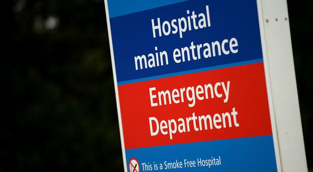 Antrim Area Hospital Emergency Department is under pressure.