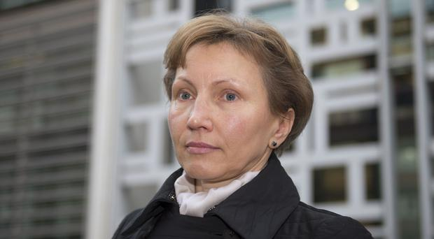 Marina Litvinenko said she would continue her fight for justice