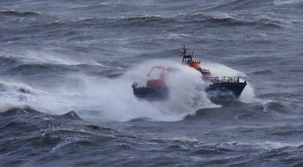 The Dover Lifeboat was involved in the search