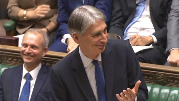Chancellor Philip Hammond warned about the challenge of raising productivity