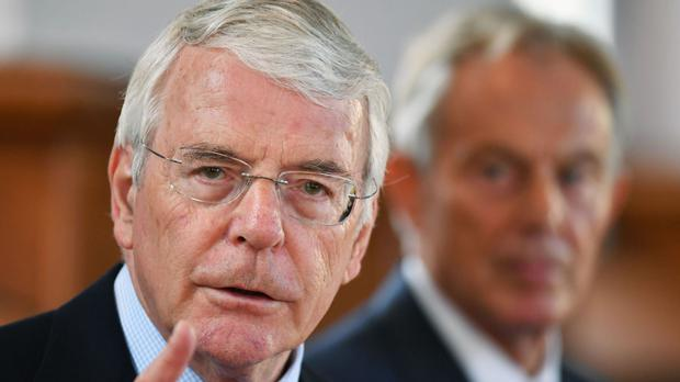 Sir John Major warns against 'tyranny of the majority' applying to Brexit