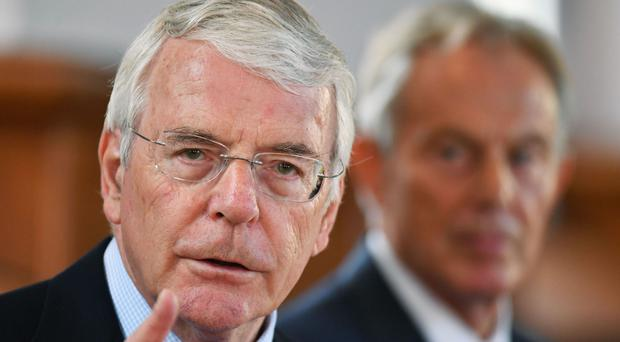 Sir John Major said the EU single market was the richest market mankind has ever seen
