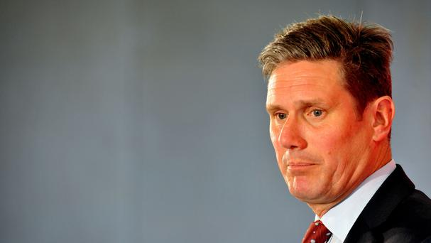 Sir Keir Starmer is Labour's Brexit spokesman