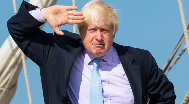 File photo dated 08/09/14 of Boris Johnson. An ally has urged senior Tories not to undermine the Foreign Secretary by making public jibes about him.