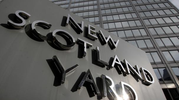 Scotland yard said the police officer remains in hospital