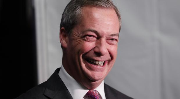 Nigel Farage is interim leader of Ukip