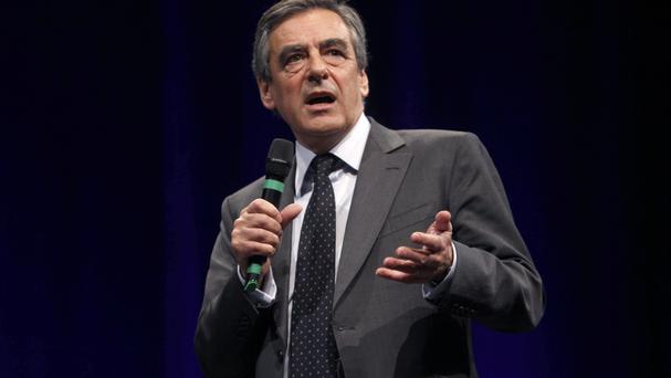 Francois Fillon beat Alain Juppe by winning two thirds of the vote